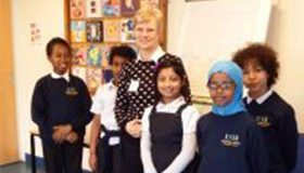 The Joy of Volunteering in Schools, Judy Harris reports